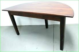 half round dining table half moon dining table half round dining table circle for pertaining to half round dining table
