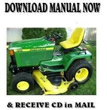 2000 john deere 455 lawn tractor
