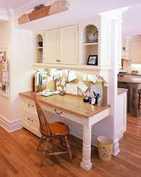 New Canaan, Ct. Kitchen Desk area traditional-kitchen