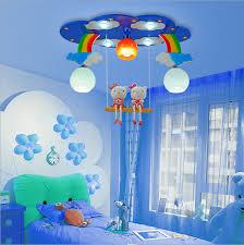 children bedroom lighting. Modern Cartoon Ceiling Light Kids Bedroom Bulb Fittings Led Lamp For Children Room Lighting Girl\u0027s Pink/blue Color-in Lights From