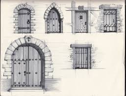 Medieval Doors paintings of doors posted by peter coene at 152 pm doors 2095 by xevi.us