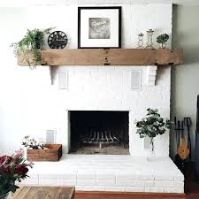 painting brick fireplace white best painted fireplaces inside with remodel makeover paint wit