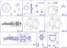 Учебные проекты котельных котельные агрегаты курсовые и  Дипломный проект Паровая турбина К 300 240 с двумя цилиндрами
