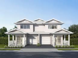 Hampton Style Home Designs Nsw Bronte Duplex Design 2 Storey Duplex House Plans Rawson