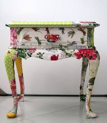floral decoupage furniture. diy home decor inspiration recycled side table floral decoupage furniture u