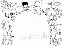 ジャングル ターザンイラストなら小学校幼稚園向け保育園向けの