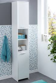 Wohnling Badschrank Wl5751 Modern Holz 30 5 X 190 X 30 Cm Weiß