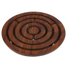Handmade Wooden Board Games SouvNear Handmade Wooden Labyrinth Board Game Ball in Maze Puzzle 43