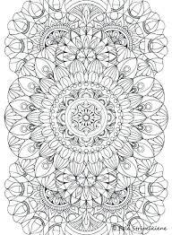 Mandala Coloring Pages For Adults Free Printable Mandala Coloring