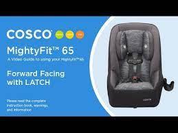 mightyfit 65 forward facing with latch