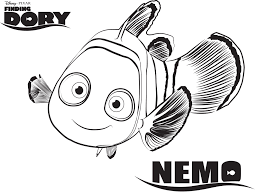 Movie activity sheets and coloring pages our some of our favorites because its continues the excitement around the movies. Nemo Finding Dory Coloring Pages Disney Movies List