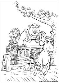 Small Picture Shrek Coloring Pages Bestofcoloringcom
