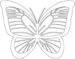 Printable Butterfly Outline Butterfly Outline 30 Outlines Of Printable Butterflies