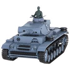 <b>Радиоуправляемый танк</b> Pilotage танк <b>HENGLONG</b> Panzer III Ausf ...