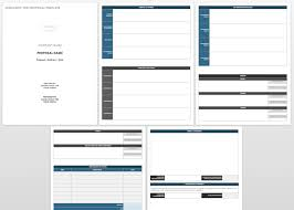 Free Job Proposal Templates Smartsheet