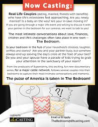 Fun Bedroom For Couples Reality Show Casting Calls And Auditions