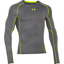 under armour heat gear. under armour heatgear long sleeve compression printed - ss15 heat gear