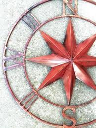 metal compass wall art nautical metal wall art indoor outdoor nautical compass metal wall art nautical