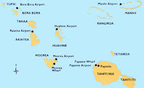 of tahiti Where Is Tahiti On The Map map of tahiti tahiti on map