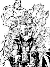 s x men coloring pages for p wolverine copy best free