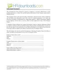 28 Awesome Medical Permission Form | Rosheruns.us