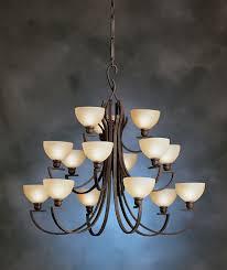 2842tz kichler transition contours 15 light chandelier discontinued item