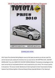 2010 toyota prius electrical wiring diagram by wardtoledo issuu page 1 2010 toyota prius electrical wiring diagram