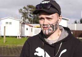 cant find work man with devast8 face tattoo says he cant find work the independent