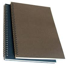 spiral notebook spiral journal spiral softcover notebook lined pages 2 notebooks per