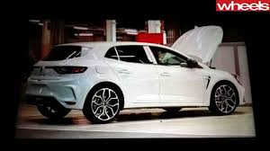 2018 renault megane rs review. delighful 2018 renault megane rs leaked image for 2018 review