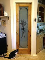 pantry door with glass etched glass etched glass etched glass pantry door glass etched design pantry