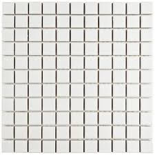 merola tile metro square matte white 11 3 4 in x 11