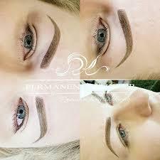 eyebrow shading. ombre shading - permanent makeup eyebrow
