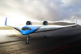 New Airplane Wing Design Radical V Shaped Plane Design Imagines Passengers Seated In