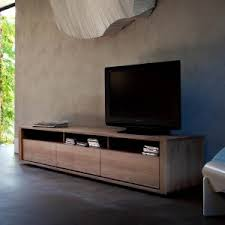 Image Haversham Mid Century Adventures In Furniture Contemporary Tv Stands Units Television Stands Solid