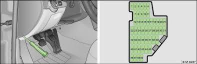 �koda online manuals (print) skoda octavia mk1 fuse box diagram at Octavia Fuse Box Diagram