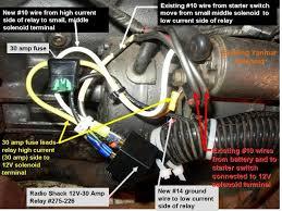 h34 yanmar starter solenoid wiring sailboatowners com forums engine starter relay pix installation jpg