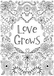 More than 5.000 printable coloring sheets. Free Printable Adult Colouring Pages With Inspirational Quotes Daisies Pie