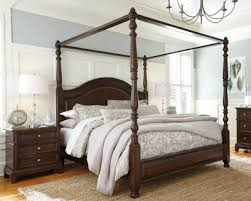 king size canopy bed ashley furniture. Fine Bed Lavidor King Canopy Bed Ashley Furniture HomeStore Intended Size R
