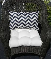 Indoor Outdoor Cushion for Wicker Loveseat Bench Settee Solid