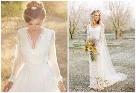 fabulous fall wedding dress ideas long sleeves and lace