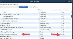 Chart Of Accounts For Rental Property Quickbooks For Owner Rental Properties
