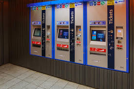 Inside Vending Machine Simple The Vending Machines Selling Metro Tickets Editorial Stock Photo