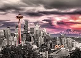 Seattle Cityscape Seattle City Skyline