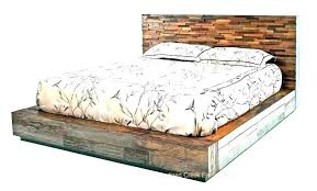 Wood Canopy Bed Frame Queen Dark Amazing – thebuddhaplay.com