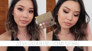 <b>ZOEVA COCOA BLEND</b> • 3 Looks, Review & Swatches - YouTube