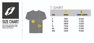 Human Made Size Chart T Shirt Classic