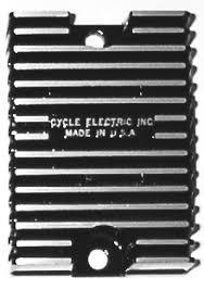 cycle electric inc rectifying regulators