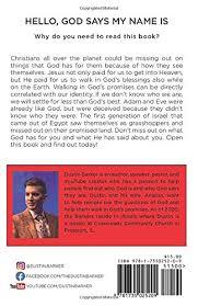 Hello, God says my name is: 31 day devotional: Who does God say you are?:  Amazon.de: Barker, Dustin: Fremdsprachige Bücher