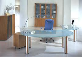 home office contemporary glass office. Office Glass Desks Modern Desk Concept Home Furniture Top . Contemporary I